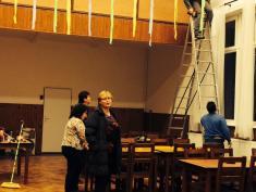 Příprava na Tatecké posvícení 2014