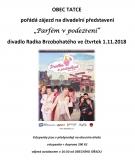 Zájezd na divadelní představení Parfém v podezření do divadla Radka Brzobohatého 1