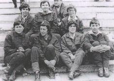 1987 - družstvo žen naoslavách vChrástě